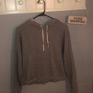 NWOT Madewell Gray hoodie